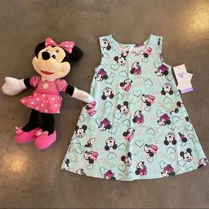 Disney Minnie Mouse jumping beans dress & doll